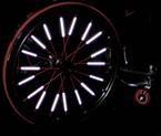 Wheelchair Spoke Reflectors