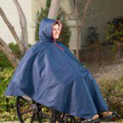 Wheelchair Winter Poncho – 3