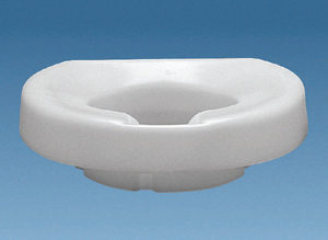 2″ Contoured Tall-Ette Elevated Toilet Seat