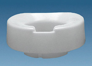 4 Contoured Tall-Ette Elevated Toilet Seat