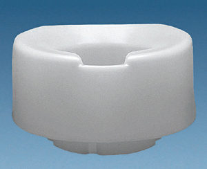 6 Contoured Tall-Ette Elevated Toilet Seat