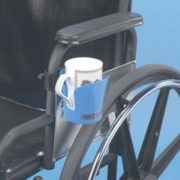 CLAMP-ON WHEELCHAIR CUP HOLDER new nip drink handy