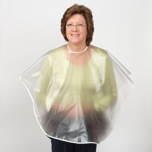 Clear Shampoo Cape