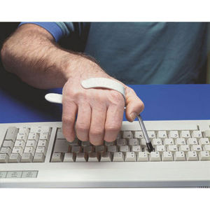 Keyboard-Typing Aid with Hand Clip