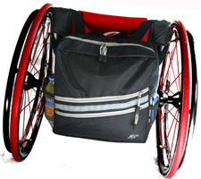 RehaDesign Stash and Flash Wheelchair Backpack