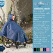 Wheelchair Rain Poncho – 2