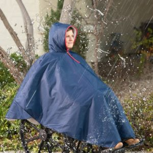Wheelchair Rain Poncho – Main