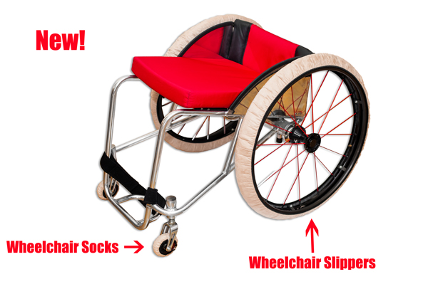 RehaDesign Wheelchair Socks (Caster Covers)